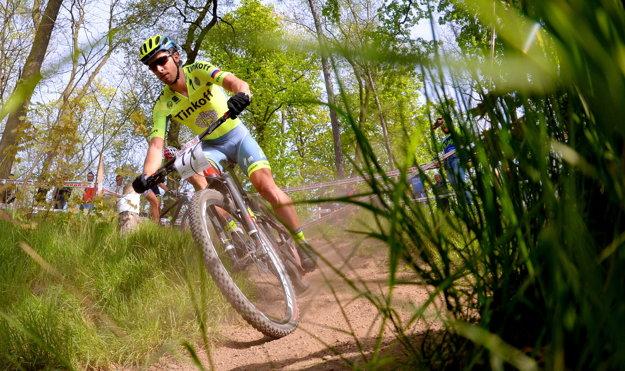 Peter Sagan štartoval v apríli na dvoch pretekoch v horskej cyklistike. V českých Tepliciach skončil na 4. mieste.