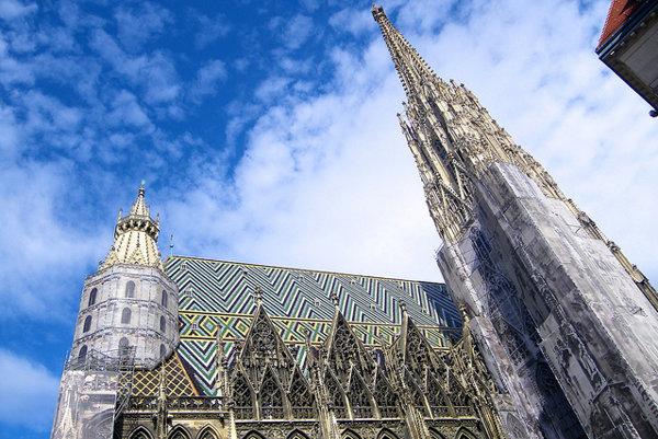 Dóm sv. Štefana vo Viedni.