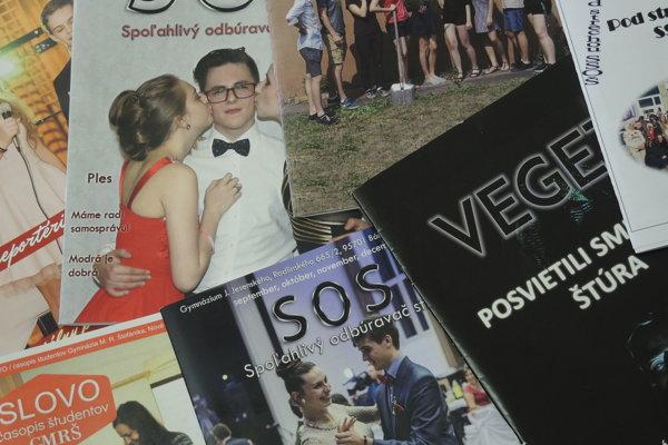 Do súťaže sa tento rok zapojilo šesť škôl. Prvé miesto získal časopis SOS.