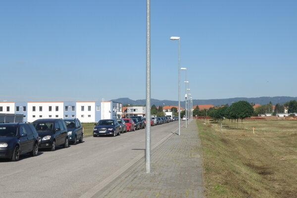 V priemyselnom parku vybudujú nové parkovisko.