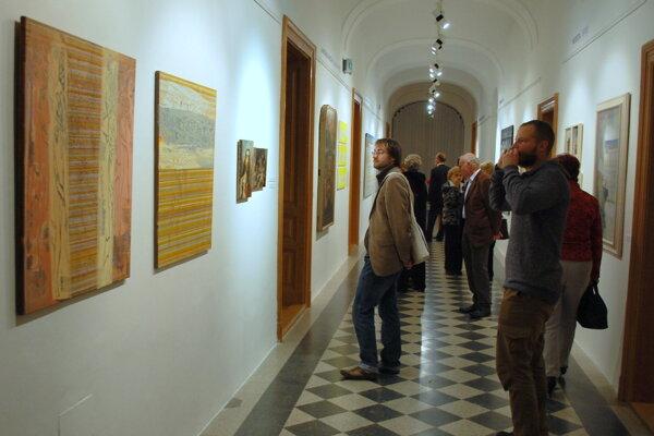 V oblasti predmetu vedecko-výskumnej práce galéria do súťaže prihlásila výstavu Čože je to päťdesiatka.