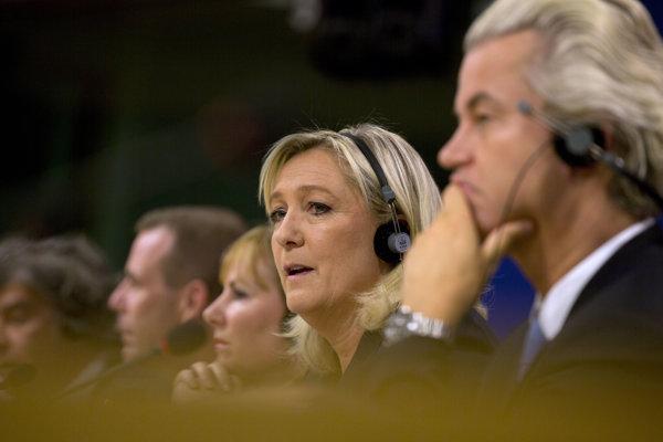 Marine Le Penová a Gert Wilders