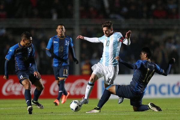 Lionel Messi zápas nedokončil.