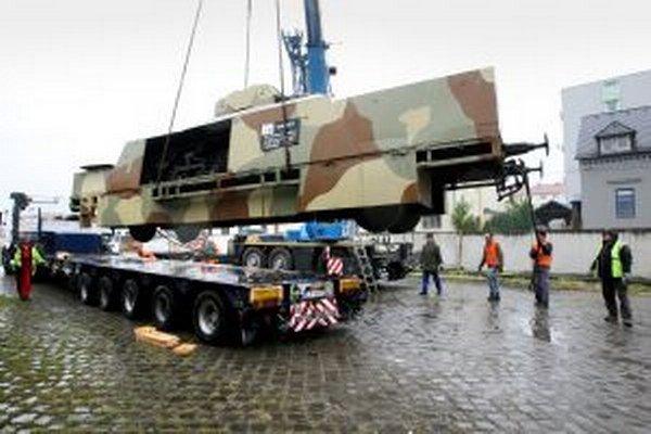 Tankový vozeň z pancierového vlaku Štefánik.