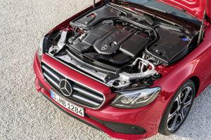Mercedes E 220 d s novým turbodieselom