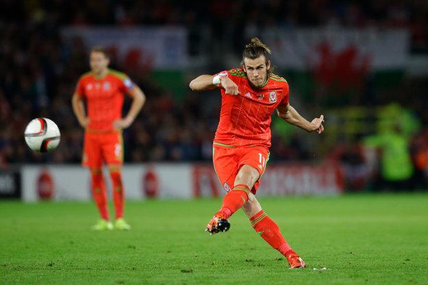 Gareth Bale je najväčšou hviezdou Walesu.