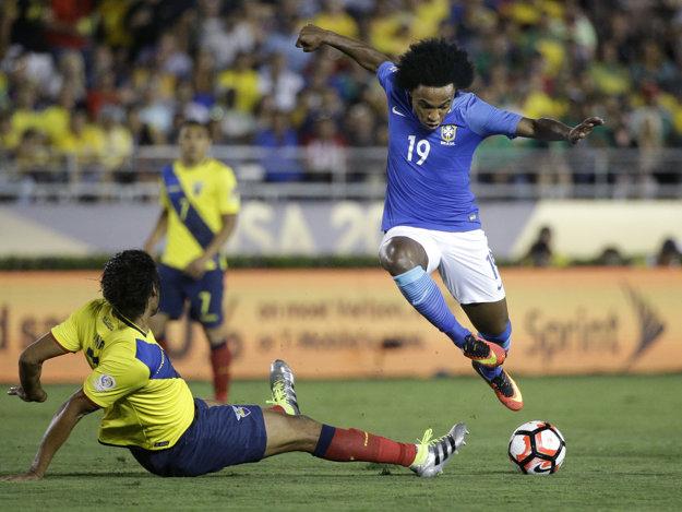 V zápase Brazílie s Ekvádorom diváci gól nevideli.