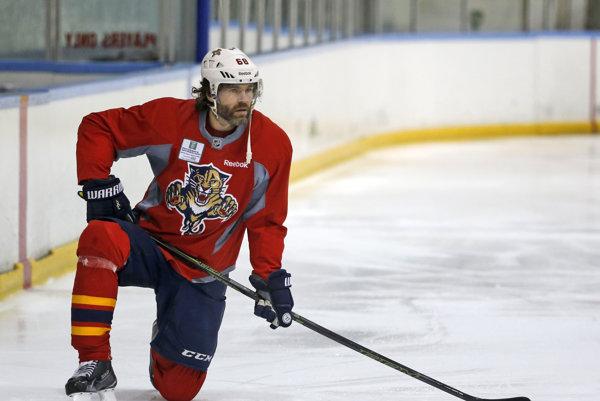 """Legendárny """"Jarda"""" sa do hokejového dôchodku rozhodne nechystá."""