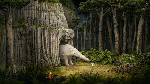 Záber z videohry Samorost 3, ktorá bude predvedená počas podujatia Fest Anča Game Days.