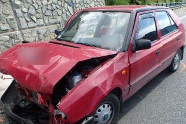 Na ceste I/11 v katastri mestskej časti Čadca - Horelica došlo k dopravnej nehode.