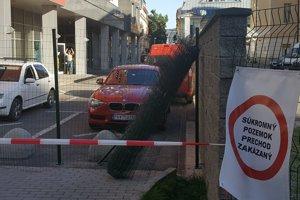 Satinského ulica je od utorka 7. júna 2016 nepriechodná.