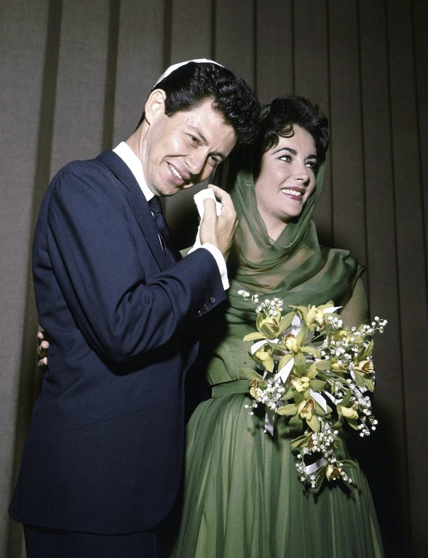 Elizabeth Taylor a Eddie Fischer