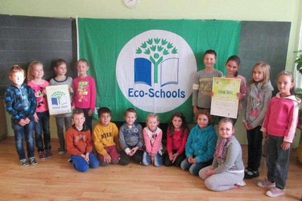 Ako jediná z okresu bola tentoraz certifikovaná Základná škola v Hontianskej Vrbici.