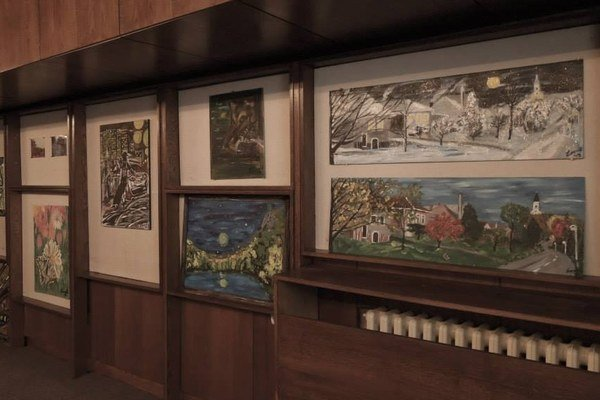 Rybníčan vystavuje v CK Junior v Leviciach.