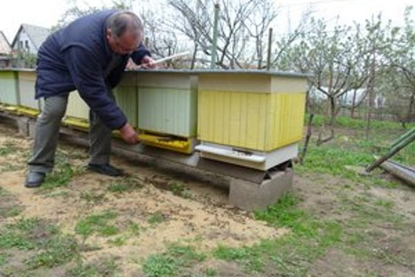 Včelárov v Šahách postihol hromadný úhyn včiel, príčinou je otrava neznámou látkou.
