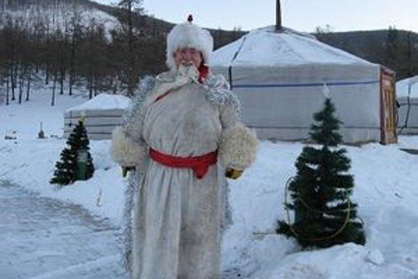 Mongolský dedo Mráz.