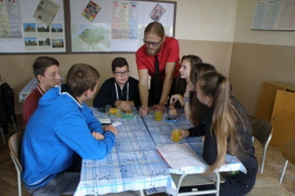 Základná škola v Radošovciach zažila netradičné vyučovanie.