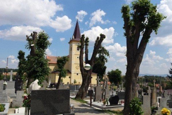 Štefanovský cintorín.