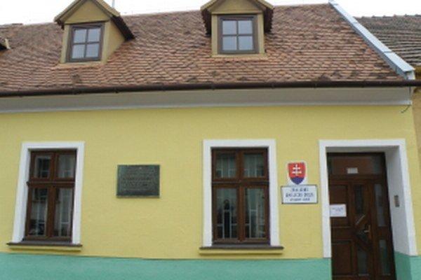 Budova Škarniclovej tlačiarne v Skalici.