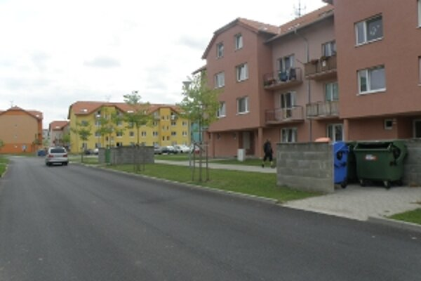 Cestu na ulici Lúčky vybudovalo mesto Skalica z vlastných zdrojov.