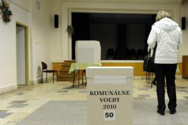Komunálne voľby budú stáť deväť miliónov eur.