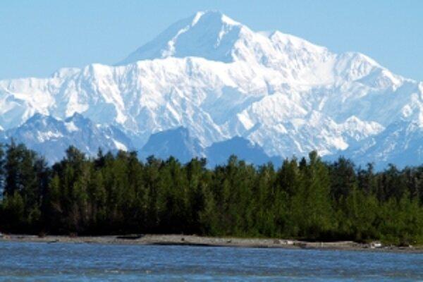 Mt. McKinley, najvyššie hora Severnej Ameriky.