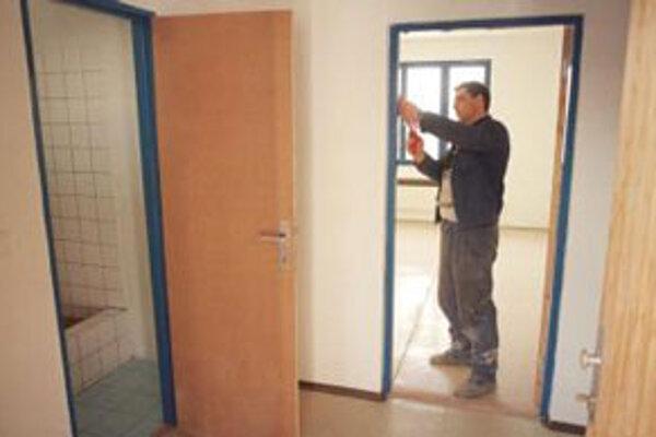 Nové nájomné byty v Senici sú takmer pripravené.