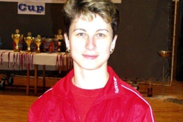 Seničanka Monika Gavorníková, reprezentantka Slovenska.