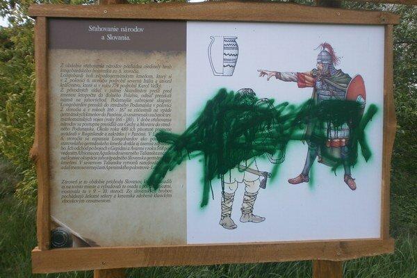 Archeopark navštívli neandertálci. Ibaže so sprejmi.