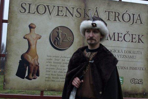 Lokalitu v Nitrianskom Hrádku nazývajú Slovenskou Trójou.