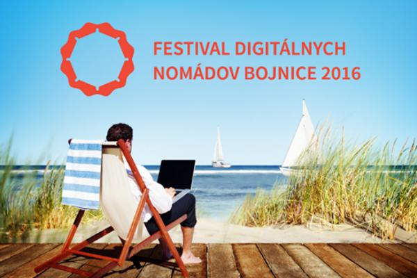 Bojnice privítajú Festival Digitálnych Nomádov 2016.