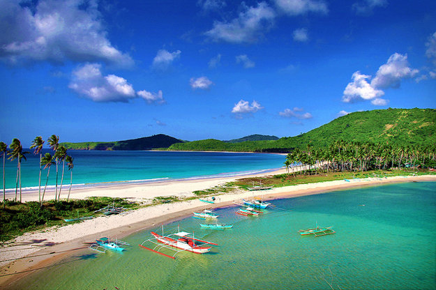 Calitang & Nacpan Beach, El Nido, Palawan.