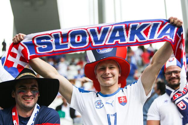 Niektorí slovenskí fanúšikovia sa do Bordeaux nedostali.
