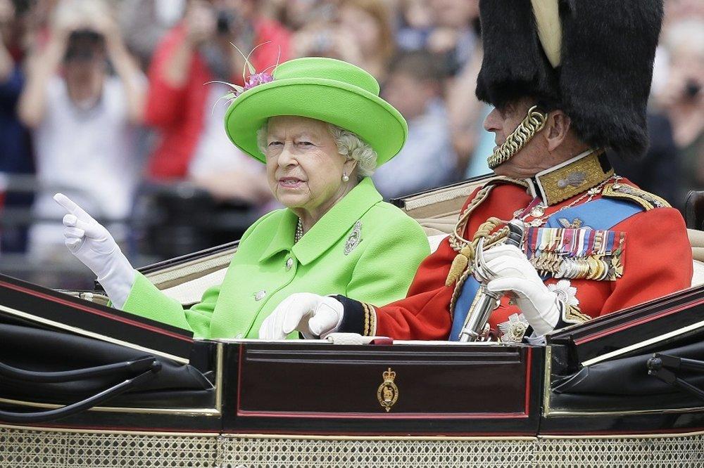 Britská kráľovná Alžbeta II. a princ Filip.