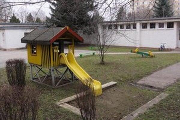 Areál škôlky na Cyrilometodskej.