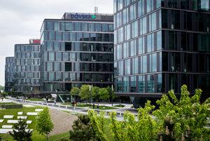 Sídlo investičnej skupiny Penta v bratislavskom Digital Parku.