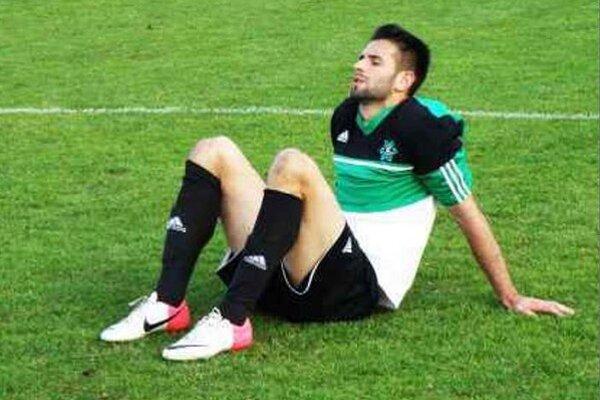 Kanonier Marek Košút bol po derby sklamaný.