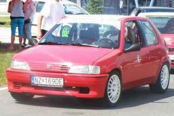 V Trenčíne dominoval Kristián Lovász (Peugeot 106).