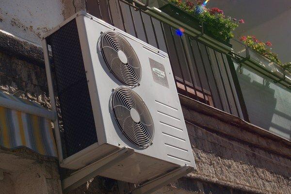 Klimatizačné zariadenie.