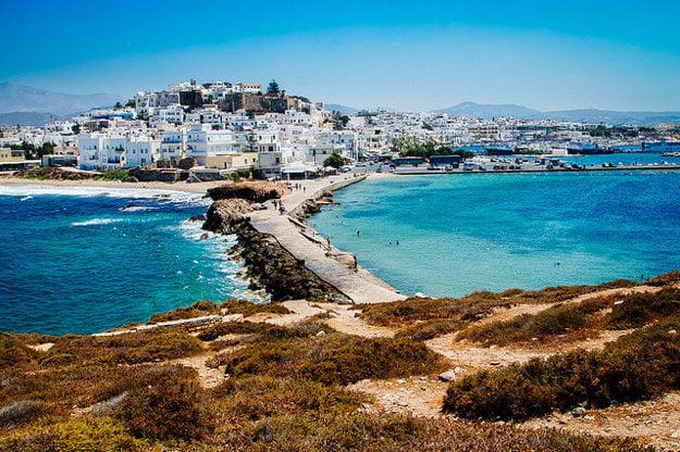 Ostrov Naxos.