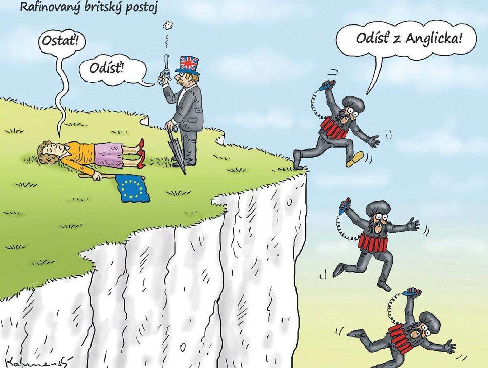 Rafinovaný britský postoj.