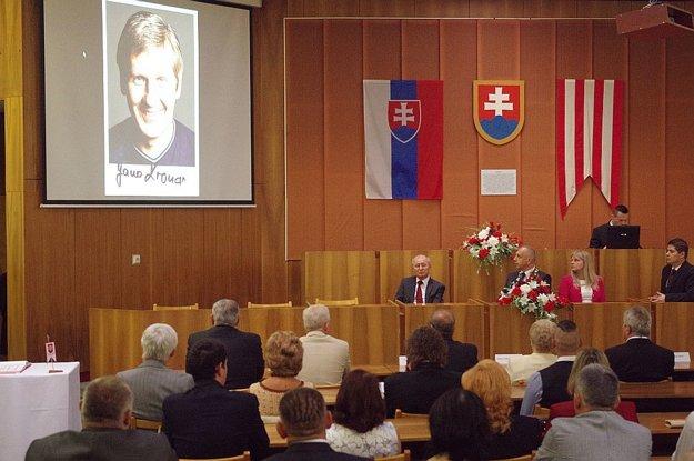 Ján Kroner si ocenenie prebral skôr.