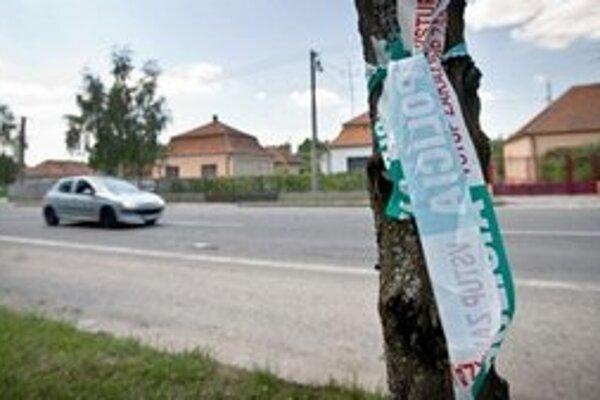 Miesto, kde sa v sobotu 16.6.2012 stala trojnásobná vražda.