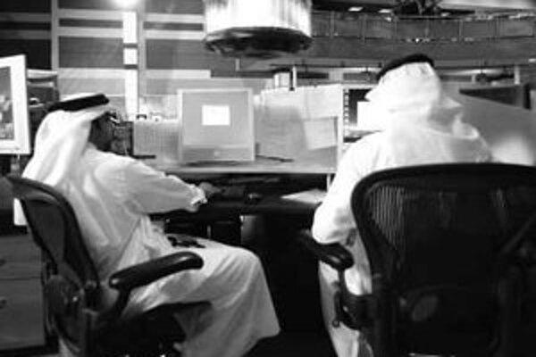 Al–Džazíra – moderná televízia v tradičnom arabskom strihu.
