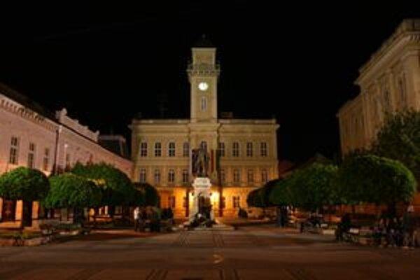 Centrum Komárna.