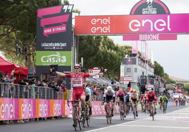 Aj na tohtoročnom Giro d'Italia Greipel ukázal, že je stále veľmi silný.