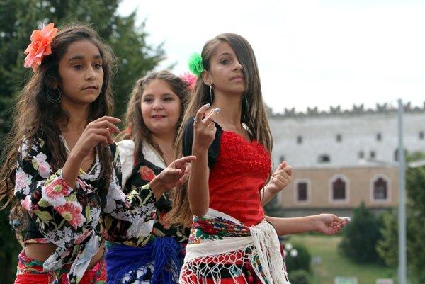 V programe sú aj rómske tance.