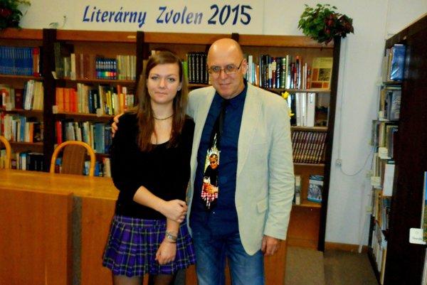 Romana Štangová sa stala najmladšou ocenenou laureátkou Literárneho Zvolena 2015.