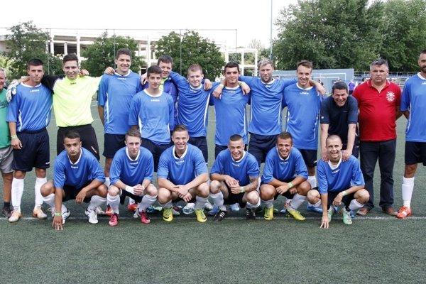 Futbalisti Ivanky (na snímke z júna 2015) si zahrajú na domácom turnaji o Pohár starostu obce.
