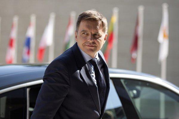 Minister financií Peter Kažimír.